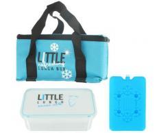 Lunch Bag Panier Repas Isotherme Box Fraicheur avec Pain de Glace Bleu - Autres
