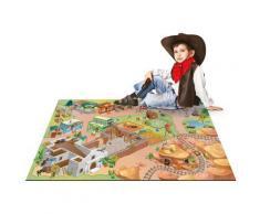 Tapis enfant jeu circuit CONNECTE ALAMO Tapis Enfants par House Of Kids 100 x 150 cm - Tapis et paillasson