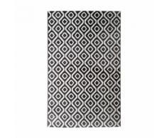 Tapis de salon contemporain TOSCANE Creme et gris 160x230cm - Tapis et paillasson