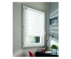 Store Jour Nuit sans percer Chain. coordonnée - 102 x 190cm-Blanc - Fenêtres et volets