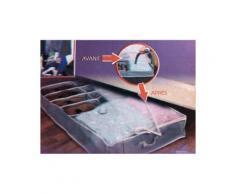 Sac de rangement compresseur dessous de lit avec compartiment chaussures - Objet à poser