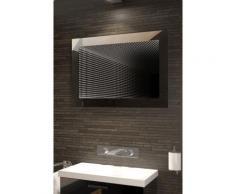 Miroir de salle de bain Infinity à reflet parfait, éclairage DEL RVB K215Lrgb - Miroir