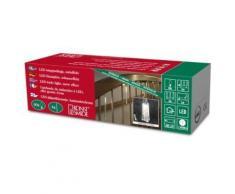 KONSTSMIDE 2760-103 ILLUMINATION 6 BÂTONS + 60 LED BLANC CHAUD + CÂBLE TRANSPARENT 1,5 V - Appliques et spots