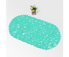 Tapis antidérapant classique en PVC Vert - Accessoires de bain