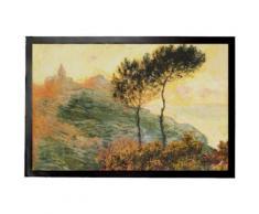 Claude Monet Paillasson Essuie-Pieds - L'Église De Varengeville, 1882 (40x60 cm) - Tapis et paillasson
