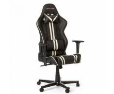 Siege racing r9 noir/blanc - Sièges et fauteuils de bureau