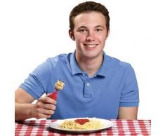 Fourchette à spaghetti à tête tournante automatique - couverts