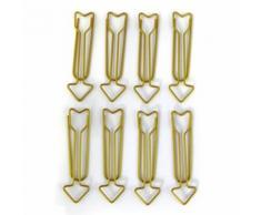 8 trombones flèches XL - doré - Objet à poser