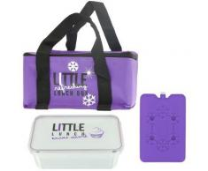 Lunch Bag Panier Repas Isotherme Box Fraicheur avec Pain de Glace Prune - Autres