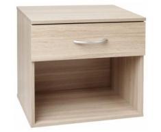Table de nuit chevet avec tiroir armoire meuble chambre - Tables de chevet