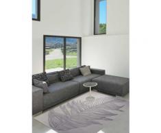 Tapis de salon carre FEATHER Tapis Moderne par Esprit 200 x 200 cm - Tapis et paillasson