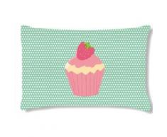 Coussin rectangulaire CUPCAKES by Cbkreation - Rideaux et stores
