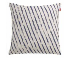Esprit Home 21466-080-50-50 Coussin Sergé 50 X 50 Cm, Bleu - Textile séjour