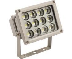 Projecteur à LED, 12 W, Puissance : 12 W, Luminosité 960 lm - Éclairage de chantier