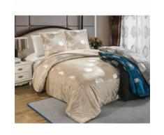 Ensemble couvre lit et 2 taies d'oreiller Venus - Linge de lit