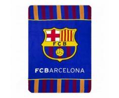 Plaid polaire FC Barcelone couverture enfant Barca - Textile séjour