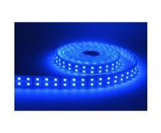 Bandeau LED RGB 144 watt - 5m - 7800 lumen - Couleur eclairage - RVB (Rouge Vert Bleu) - Ampoules à LEDs