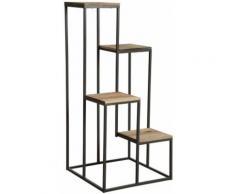 Sellette en escalier 4 plateaux bois - Tables d'appoint