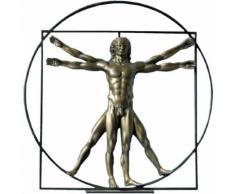 Statuette de collection Léonard de Vinci - l'homme de Vitruve - Objet à poser