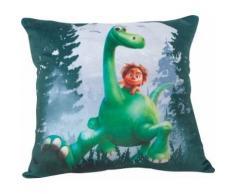 Fun House 712600 Disney Arlo Coussin pour Enfant Carré Poly Coton Vert 35 x 14 x 35 cm - Textile séjour