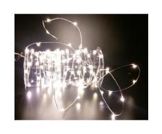 Guirlande intérieur - 300 LED - Blanc Froid - Lampes