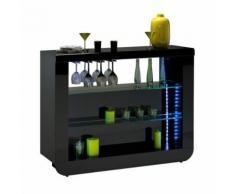 Bar comptoir Noir - FILY - Tables bar
