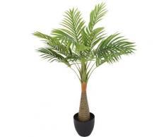 Palmier en pot - 80 cm - Plante artificielle - Objet à poser