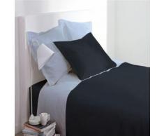 Paris prix - housse de couette 140x200cm gris anthracite - Linge de lit
