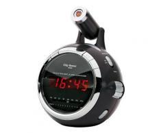Radio-réveil FM projecteur Clipsonic Technology AR269N - Radio