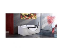 BAIGNOIRE BALNEO MASSANTE - ANGLE HAUTE - BAIN TOURBILLON - mod JUNGLE - Installations salles de bain