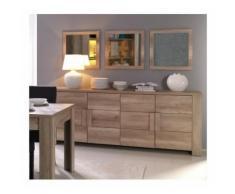 Buffet, bahut, enfilade grand modèle FERRARA 4 portes. Meuble design et tendance pour votre salon ou salle à manger - Buffets