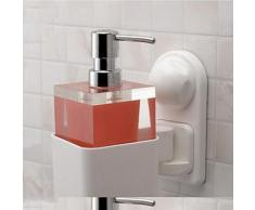 Porte-distributeur de savon contemporain en abs - Accessoires de bain
