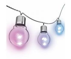 Guirlande d'ampoule LED P45 - 5 m - RVB - Lampes