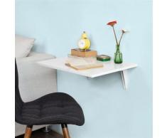 SoBuy® Table murale rabattable Table de Cuisine Enfant 60×P40cm-Blanc,FWT21-W,FR - Tables de cuisine