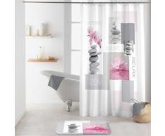 Rideau de douche 180x200 ZENITUDE - Accessoires salles de bain et WC