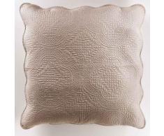 Housse de coussin +encart 60 x 60 cm microfibre unie melissa Lin - Linge de lit
