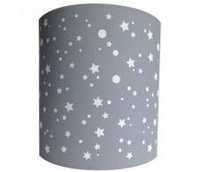 Suspension Etoiles De La Galaxie Design Lilipouce Gris 35 cm - Suspensions et plafonniers