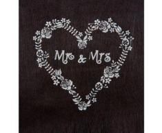 chemin de table mr & mrs 30 x 5 cm - Linge de table