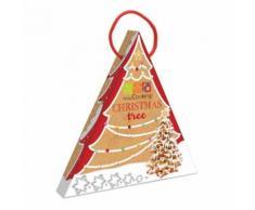Coffret mon Sapin de Noël en biscuit - Objet à poser