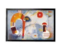 Vassily Kandinsky Paillasson Essuie-Pieds - Rond Et Pointu, 1930 (40x60 cm) - Tapis et paillasson