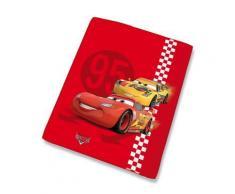 plaid 110X140 cm CARS 100% polyester - Rideaux et stores