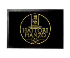 Logos Paillasson Essuie-Pieds - Hattori Hanzo Master Sword Craftsman Okinawa (40x60 cm) - Tapis et paillasson