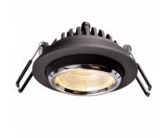 Spot LED THOMSON VIP 8W 550Lm Blanc chaud Couleur: Noir - Appliques et spots