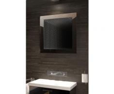 Miroir de salle de bain Infinity à reflet parfait avec éclairage DEL RVB K214Rgb - Miroir