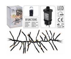 Cluster d'éclairage LED 576 lampes blanc chaud intérieur / extérieur - Objet à poser