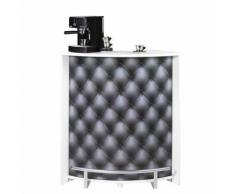 Comptoir de bar petit Blanc - MING n°6 - Tables bar