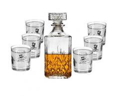 Service à Whisky avec Carafe à Whisky et 6 Verres - nologie