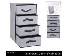 armoire colonne pliante pliable tissu tiroir rangement chambre salle de bain - Accessoires salles de bain et WC