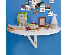 SoBuy® Table de salle à manger,table de cuisine pliable,table enfant, FWT10-W FR - Tables de cuisine
