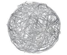 Naeve Leuchten 2033760 Boule Lumineuse En Aluminium Pour Intérieur Et Extérieur Avec Ampoule Led Ø 40 Cm - Appliques et spots